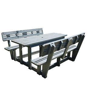 Standard Picnic Table (with Backrest)