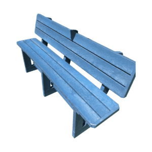 Fancy Bench (with Backrest)
